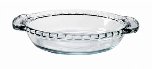 6-inch glass pet bowl for cats or small dogs