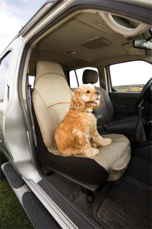 Kurgo CoPilot Bucket Seat Covers - Hampton Sand