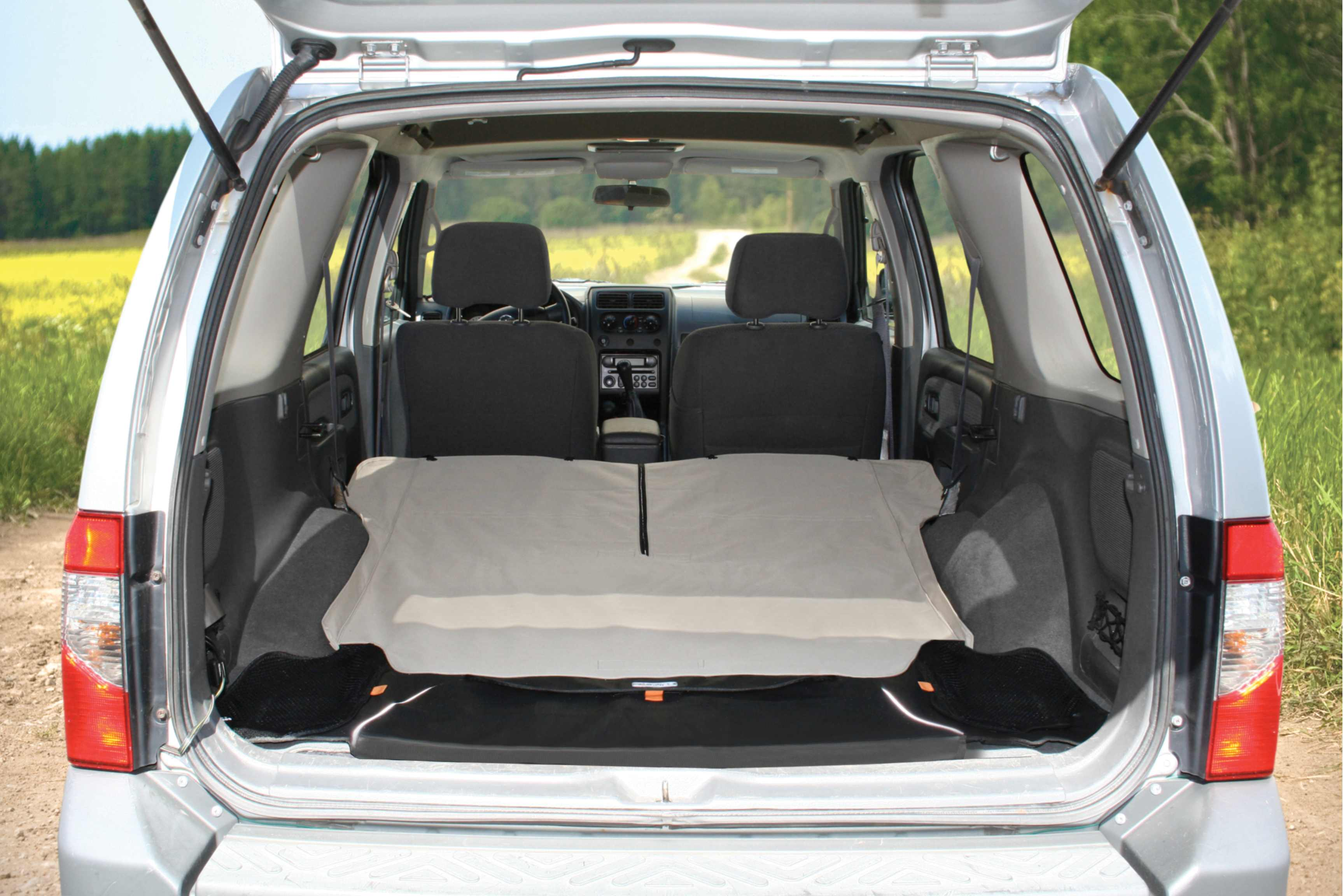 Cargo Liner - Fold down seats to protect entire cargo area with Kurgo Cargo Cape