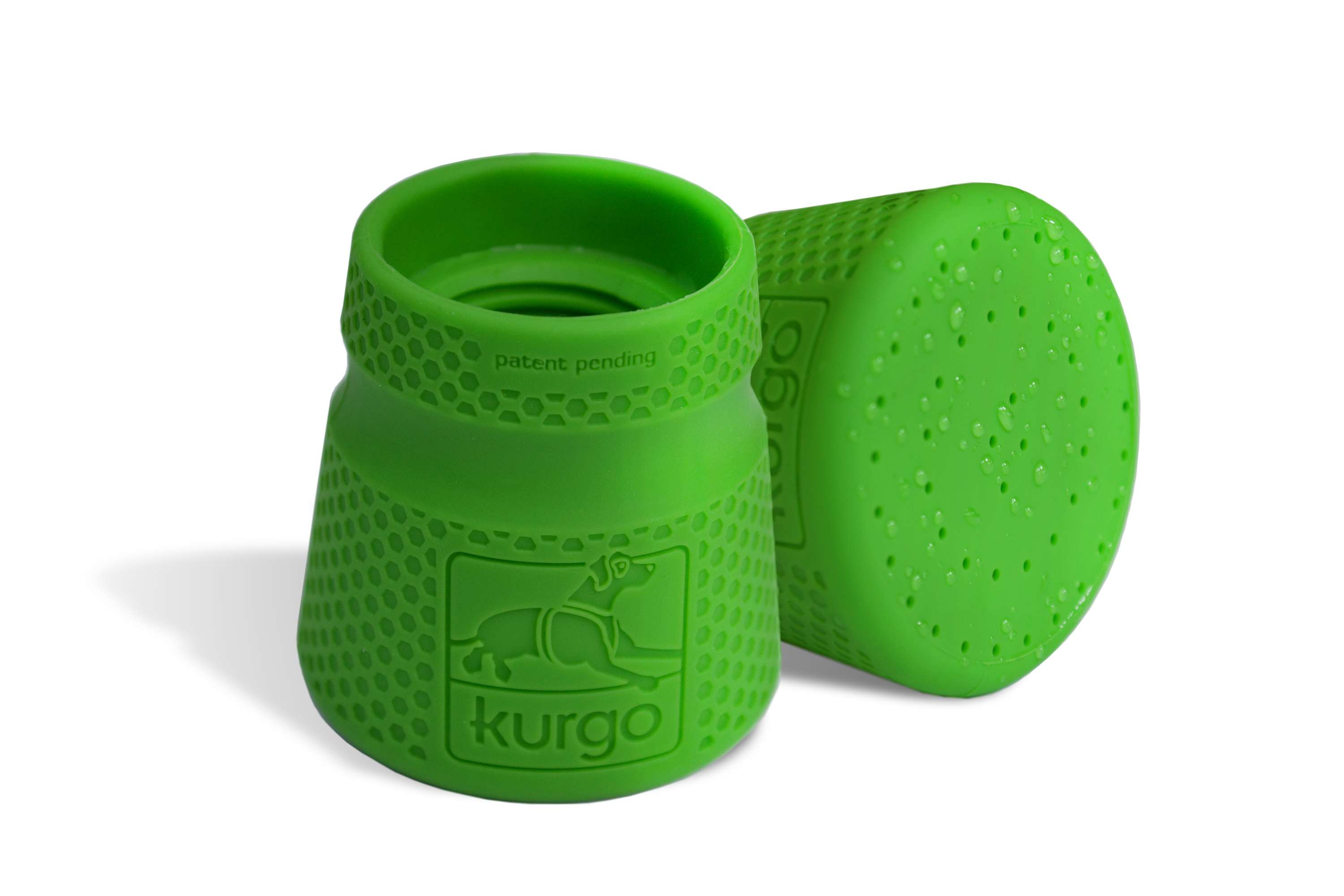 Portable Pet Shower - Kurgo Mud Dog Travel Shower front and side