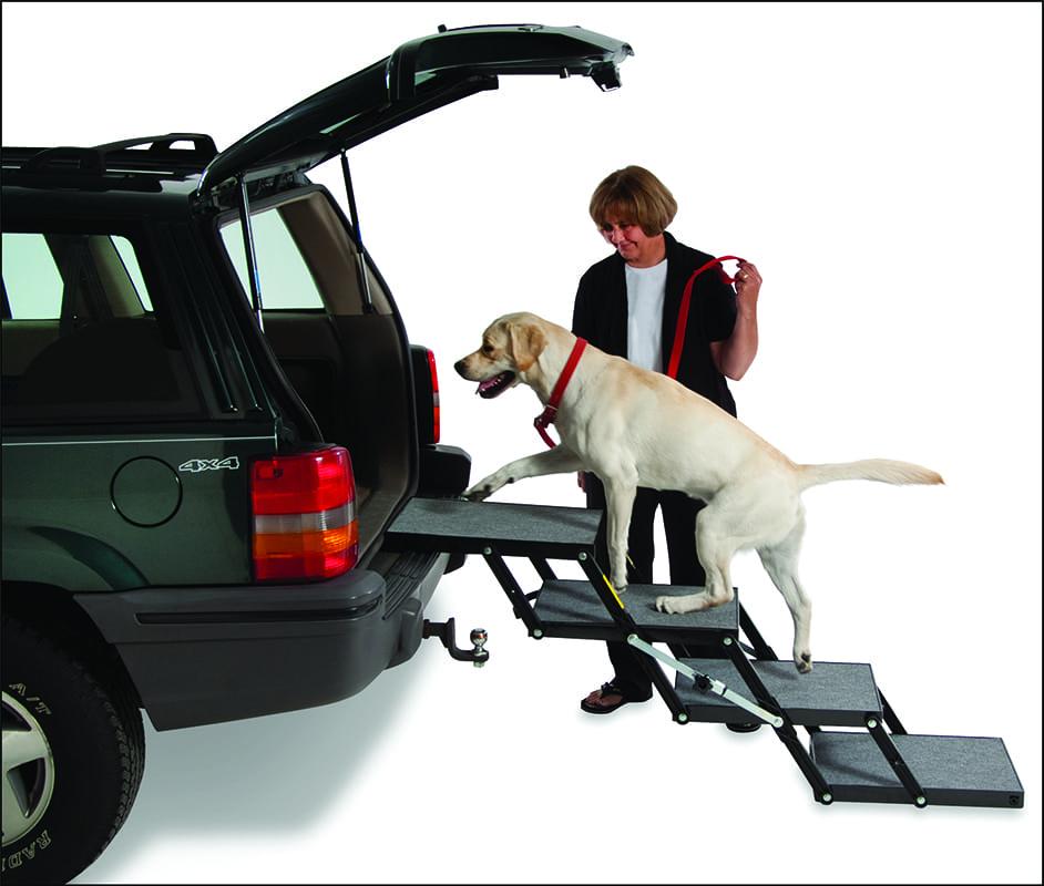 Heavy Duty Dog Steps / Dog Ramp for SUV - Pet Loader Xl