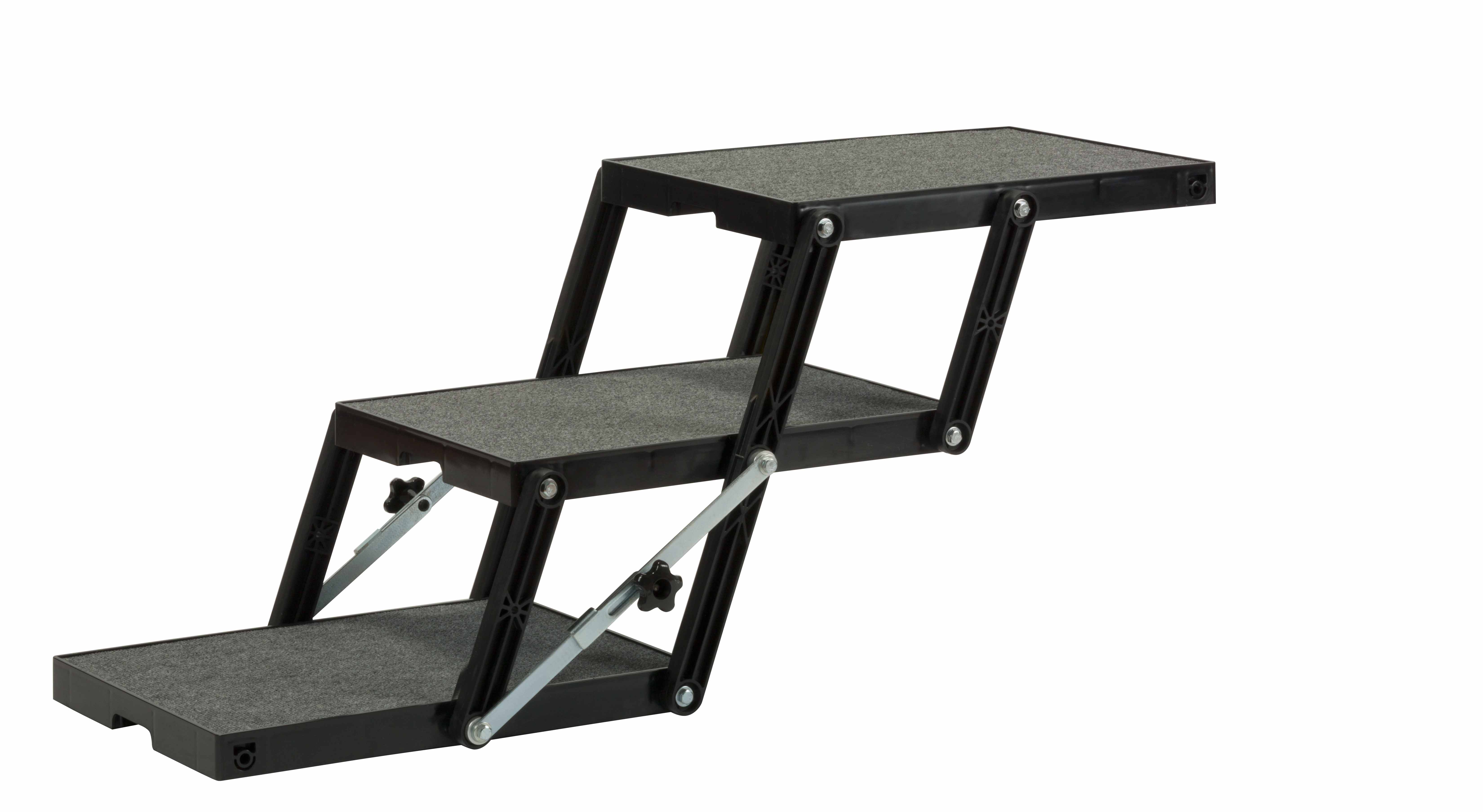 Dog Ramp for SUV - Steps - Petloader-ABS XL 18 - 3 Step Extended