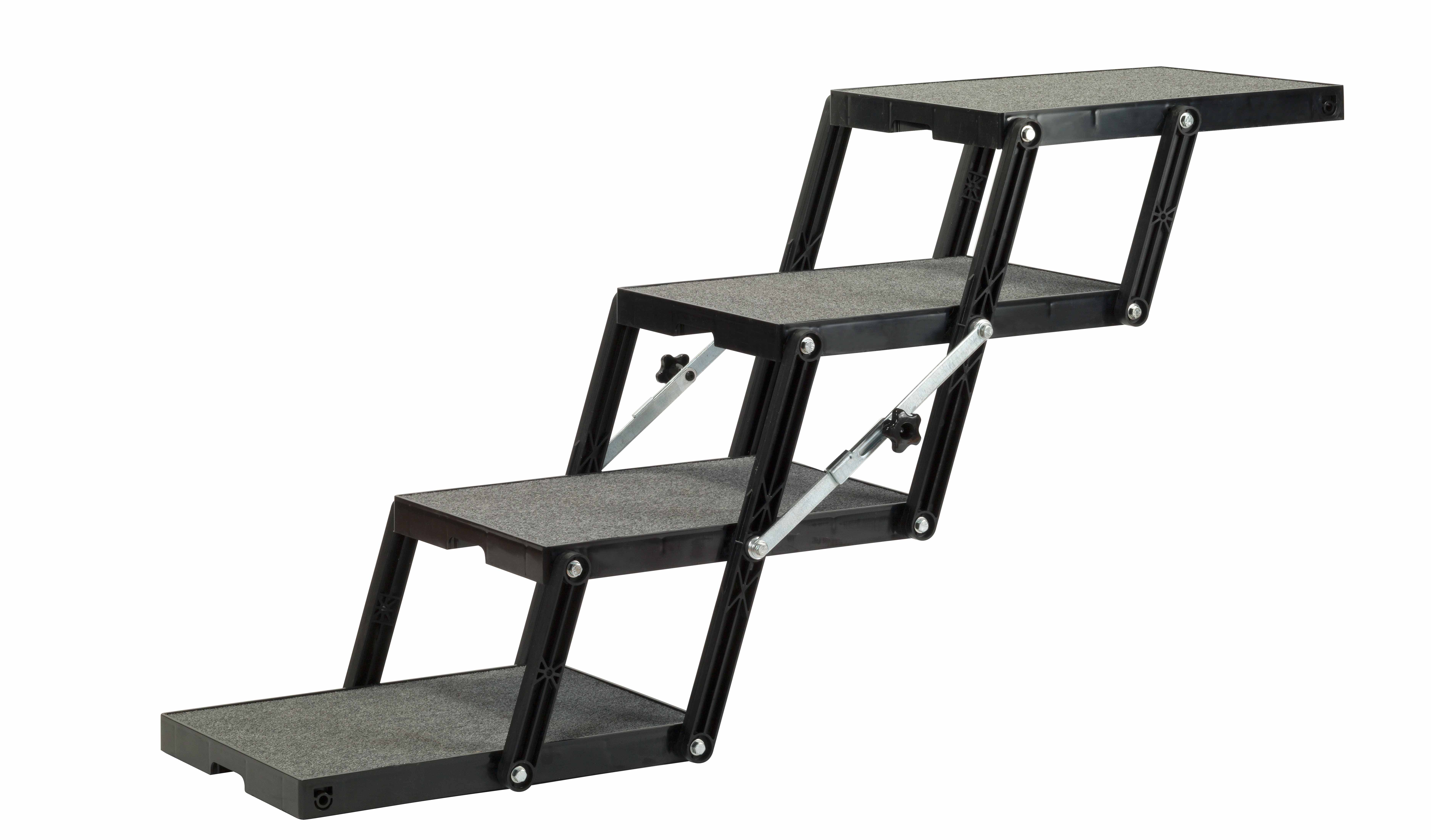 Dog Ramp for SUV - Steps Extended - Petloader-ABS XL 18 - 4 Step