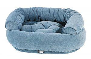 Dog Sofa - Double Donut - Bluestone