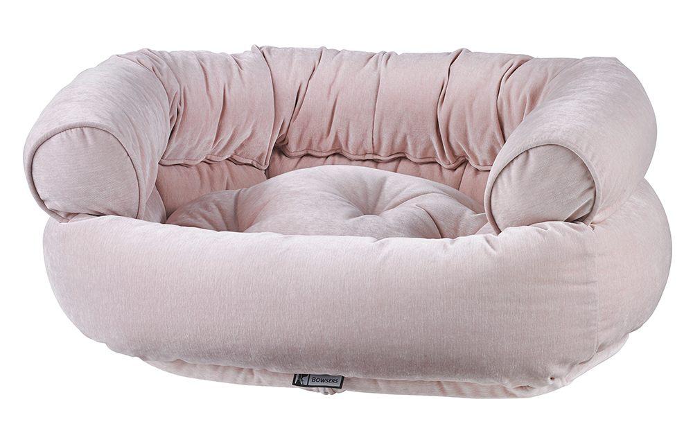 Dog Sofa - Double Donut - Blush