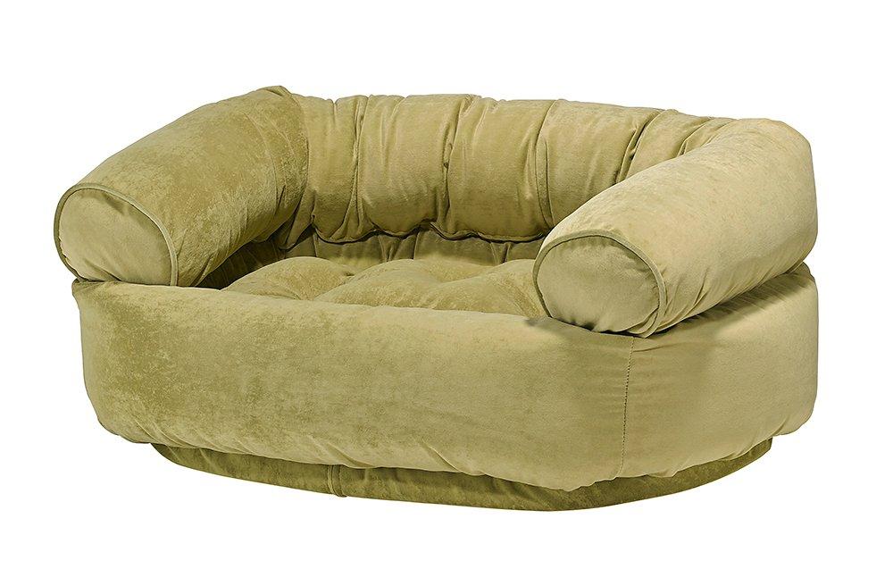 Dog Sofa - Double Donut -Celery
