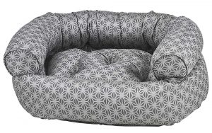 Dog Sofa - Double Donut - Mercury