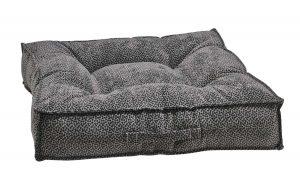 Best Dog Beds for Senior Dogs - Piazza - Pewter Bones