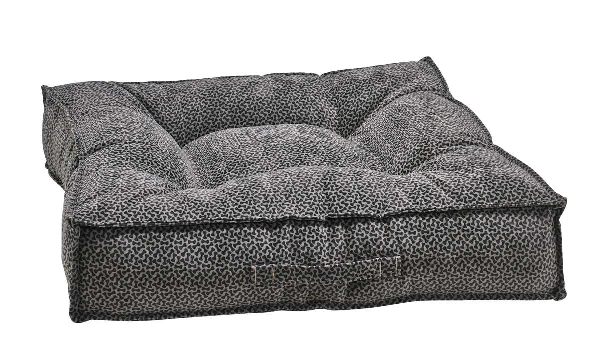 Best Dog Beds for Senior Dogs - Piazza - Pewter Bones