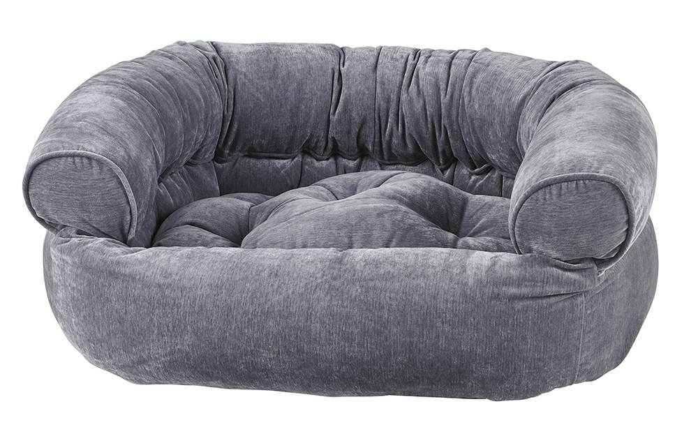 Dog Sofa - Double Donut - Pumice
