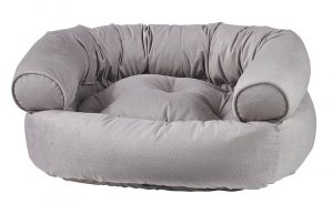 Dog Sofa - Double Donut - Sandstone