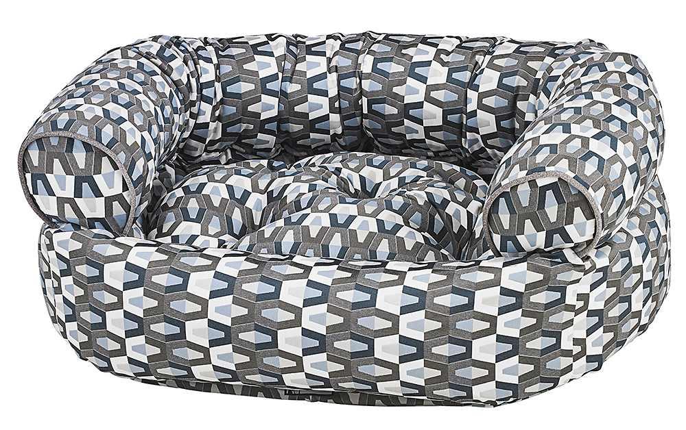 Dog Sofa - Double Donut - Titan