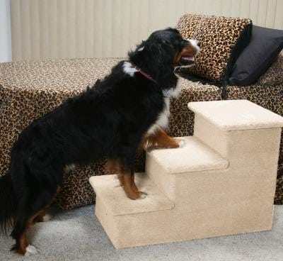 Dog Stairs for Bed - Big Triple Pet Step