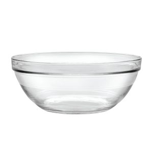 Glass Dog Bowl 3.75 quart