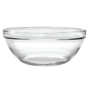 Glass Dog Bowl 6 quart