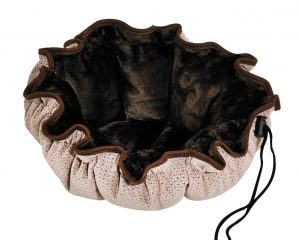 Small Dog or Cat Bed -Buttercup-Cappuccino Treats