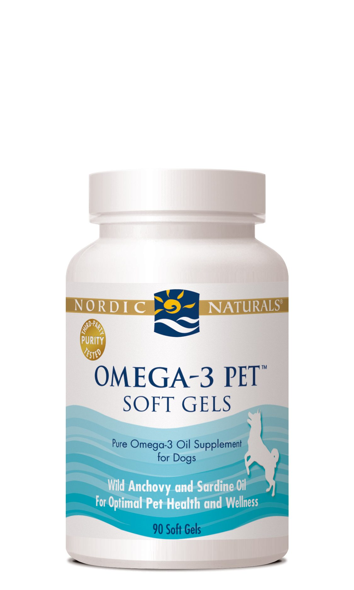 Nordic Naturals Omega-3 Fish Oil, Soft Gels, 90 count