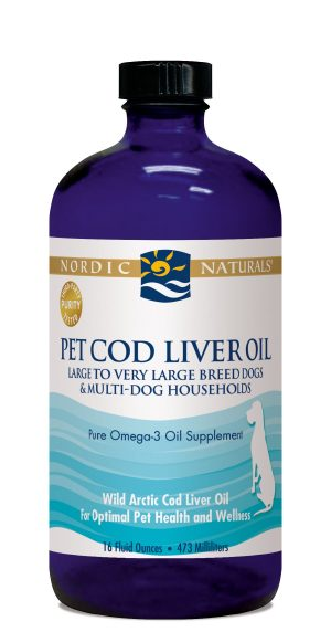 Cod Liver Oil for Dogs 16 oz.