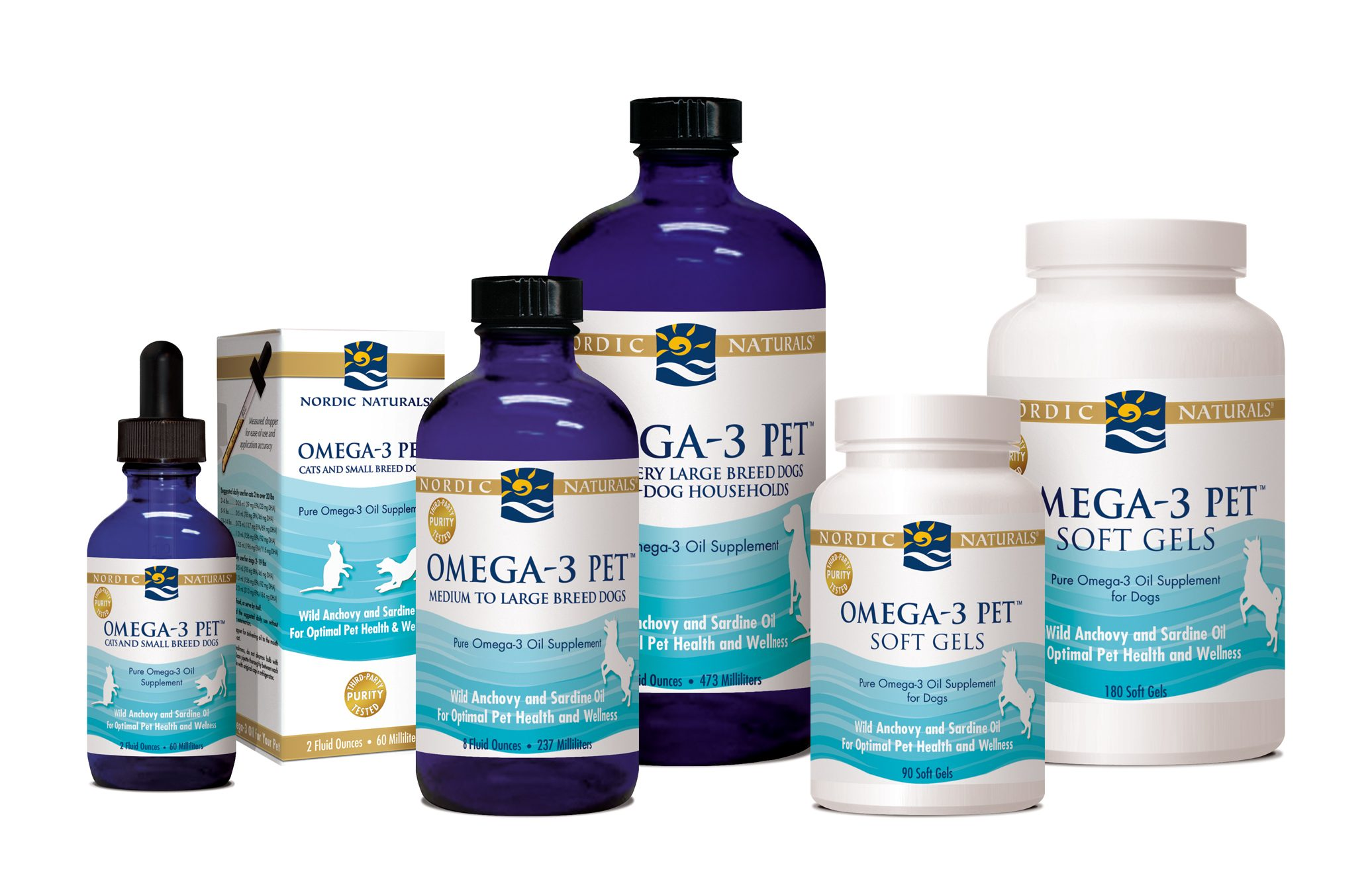 Nordic Naturals Omega-3 Fish Oil Products - All Forms