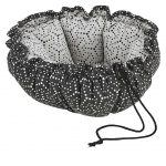 Small Dog or Cat Bed-Buttercup-Cosmic Grey (Milky Way)