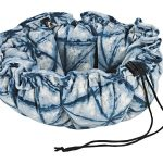 Small Dog or Cat Bed-Buttercup-Shibori