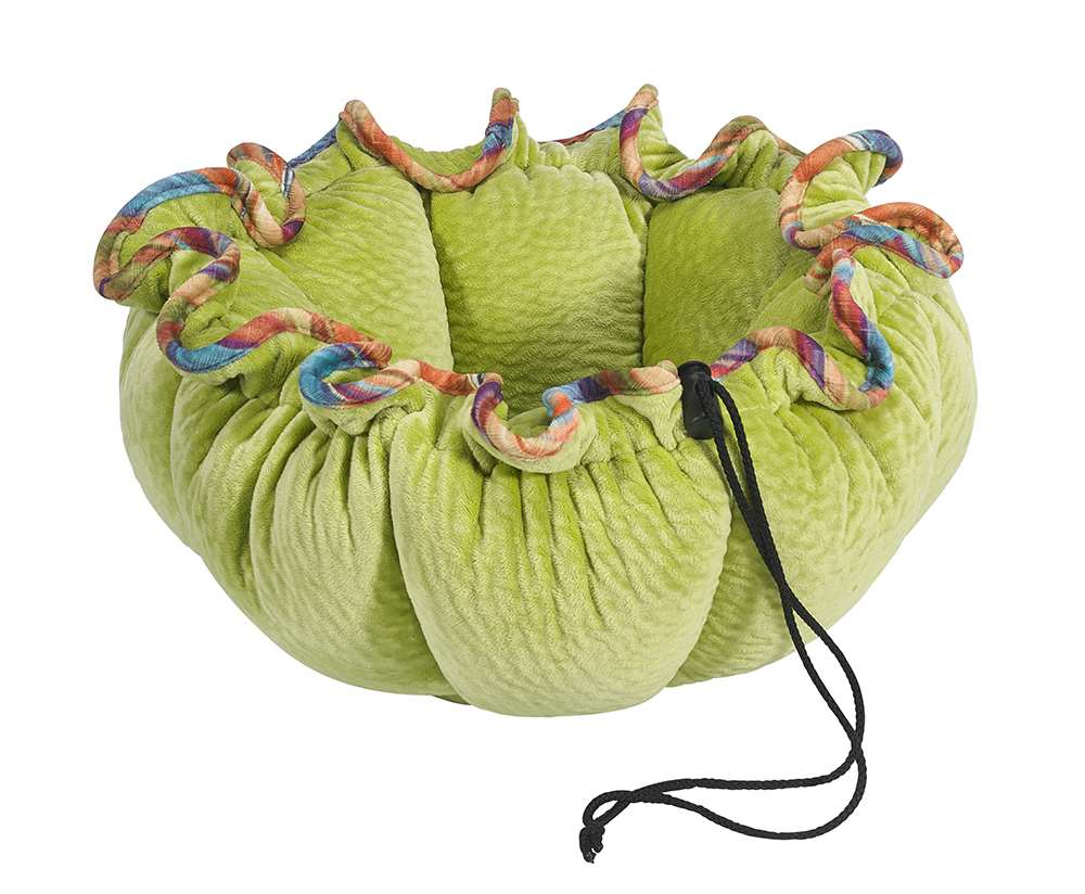 Small Dog or Cat Bed - Buttercup - Key Lime