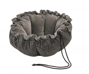 Small Dog or Cat Bed - Buttercup - Pewter Bones
