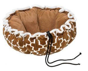 Small Dog or Cat Bed - Buttercup - Cedar Lattice
