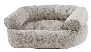 Dog Sofa - Double Donut - Chantilly