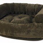 Dog Sofa - Double Donut - Chocolate Bones