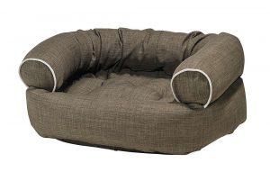 Dog Sofa - Double Donut - Driftwood