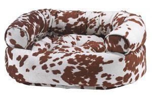 Dog Sofa - Double Donut - Durango