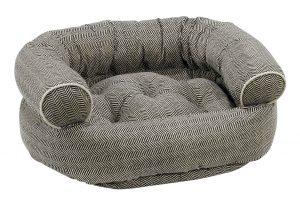 Dog Sofa - Double Donut - Herringbone