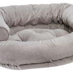 Dog Sofa - Double Donut - Silver Treats