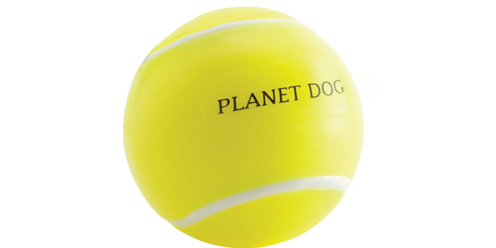 Planet Dog Tennis Ball for Dogs, Yellow