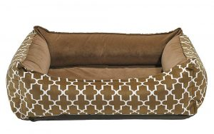 Orthopedic Dog Bed - Bowsers - Oslo Ortho Bed, Cedar Lattice