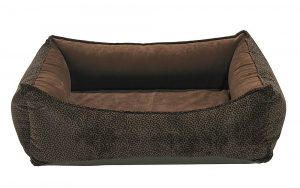 Orthopedic Dog Bed by Bowser's Pet Products, Oslo Ortho Bed, Chocolate Bones