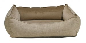 Orthopedic Dog Bed by Bowser's Pet Products, Oslo Ortho Bed, Flax