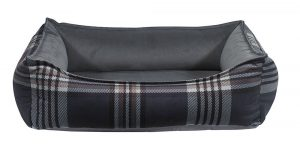 Orthopedic Dog Bed by Bowser's Pet Products, Oslo Ortho Bed, Greystone Tartan