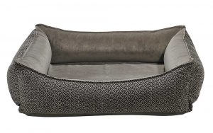 Orthopedic Dog Bed by Bowser's Pet Products, Oslo Ortho Bed, Pewter Bones