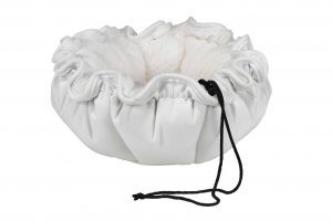Small Dog or Cat Bed - Buttercup - Winter White