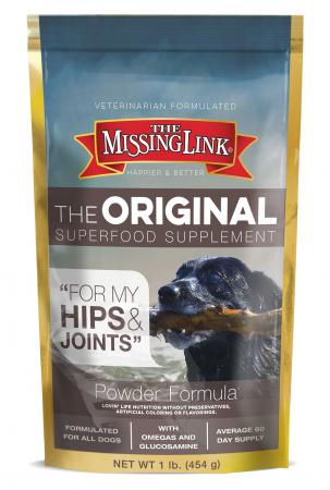 Senior Dog Nutrition - The Missing Link® Original Hip & Joint Supplement – 1 Pound