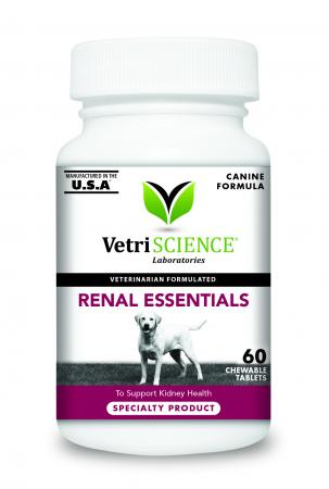 VetriScience® Laboratories Renal Essentials for Dogs, Chewable Tablets (60)