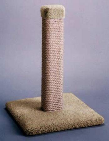 Straight Scratching Post - Natural