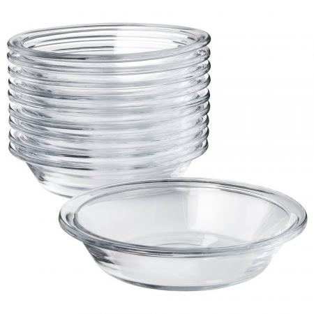 Glass - small dog or cat dishes