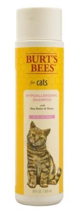 Best Cat Shampoo: Burt's Bees Hypoallergenic Shampoo with Shea Butter & Honey for Cats 10 oz