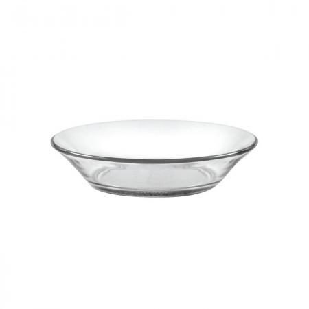 "Glass Cat Bowl or Small Dog Dish - Duralex 5.75"" Glass Food Dish"